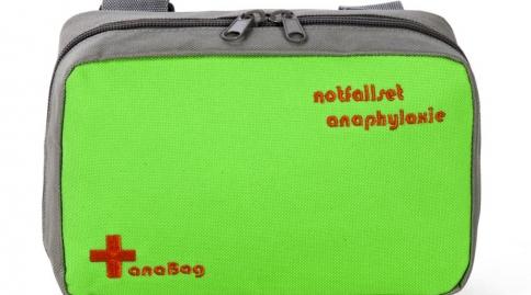 """anaBag Tasche """"notfallset anaphylaxie"""" grün"""