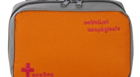 """anaBag Tasche """"notfallset anaphylaxie"""" orange"""