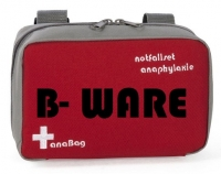 "anaBag Tasche ""notfallset anaphylaxie"" rot B-Ware"